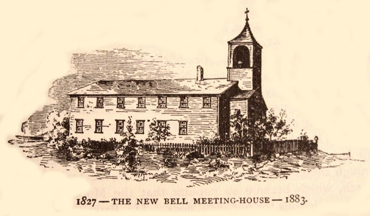 1827 Meeting House Shebnah Rich