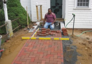 Completing the Walkway