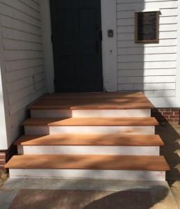 New entry steps